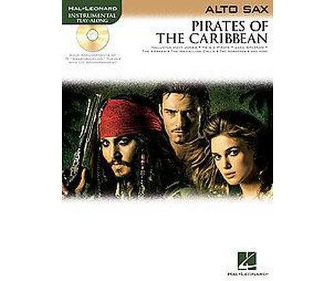 Pirates of the Caribbean : Alto Sax (Paperback) - image 1 of 1