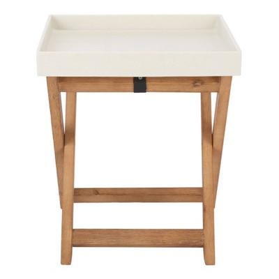 Jarden Side Table - Natural/Beige - Safavieh