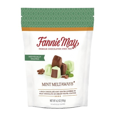 Fannie May Mint Meltaways Stand Up Bag - 4.2oz