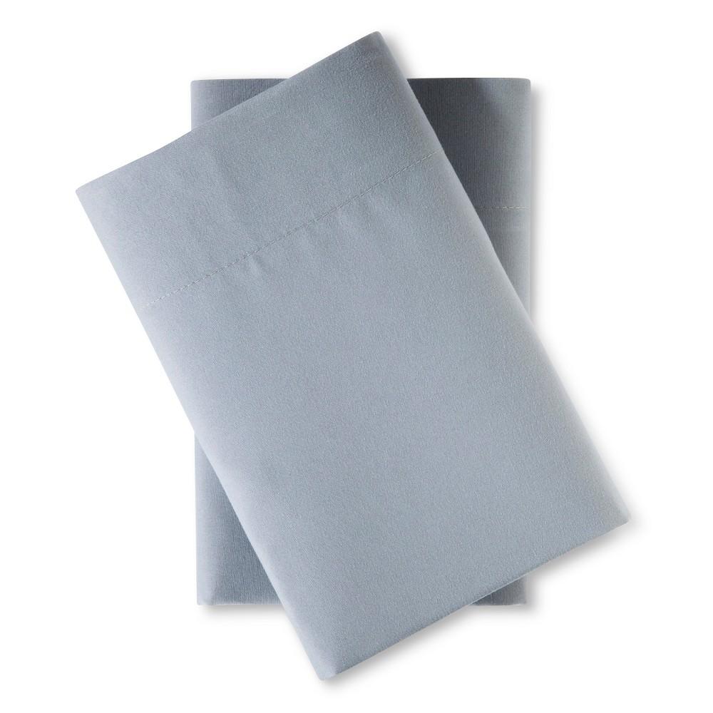 King Microfiber Pillowcase Set Gray - Room Essentials Cheap