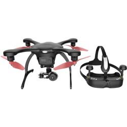 Ehang Ghostdrone 2.0 VR Drone (Apple iOS Compatible), Black/Orange