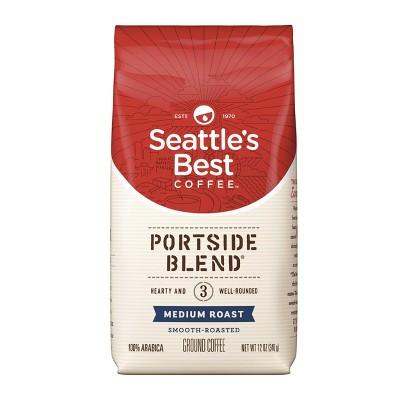 Seattle's Best Coffee Portside Blend Medium Roast Ground Coffee - 12oz