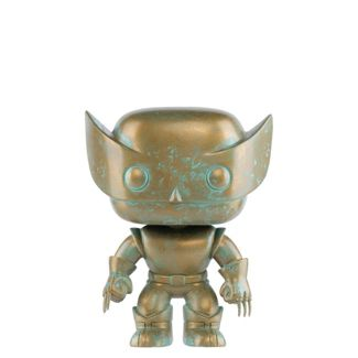 Funko POP! Marvel: Marvel 80th - Wolverine (Patina) (Target Exclusive)