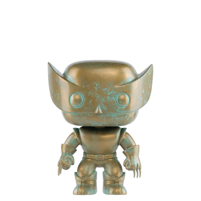 Funko POP! Marvel: Marvel 80th - Wolverine (Patina) (Target Exclusive) - image 1 of 2