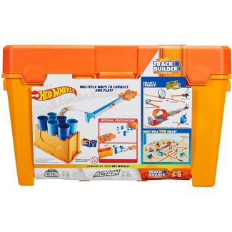 Hot Wheels Track Builder Stunt Barrel Box