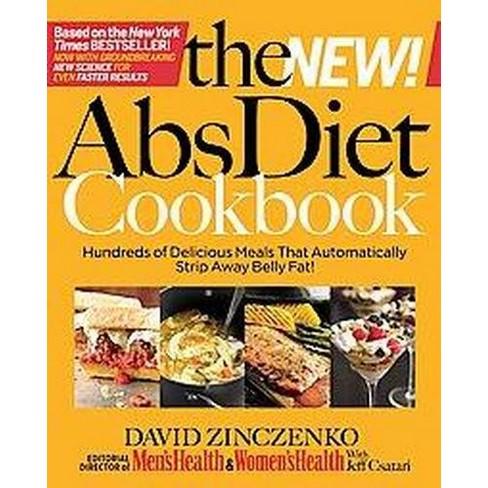 The New! ABS Diet Cookbook (Hardcover) by David Zinczenko - image 1 of 1