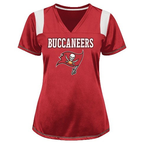 Tampa Bay Buccaneers Women's Shimmer Top XL - image 1 of 1
