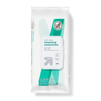 Extra Large Cleansing Cloths - 48ct - Up&Up™