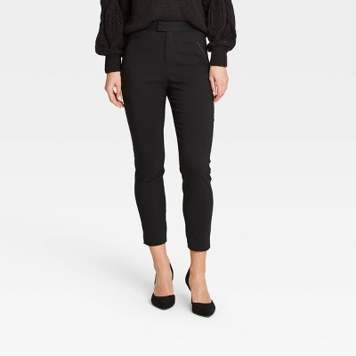 Women's Skinny Ankle Pants - Who What Wear™ Black