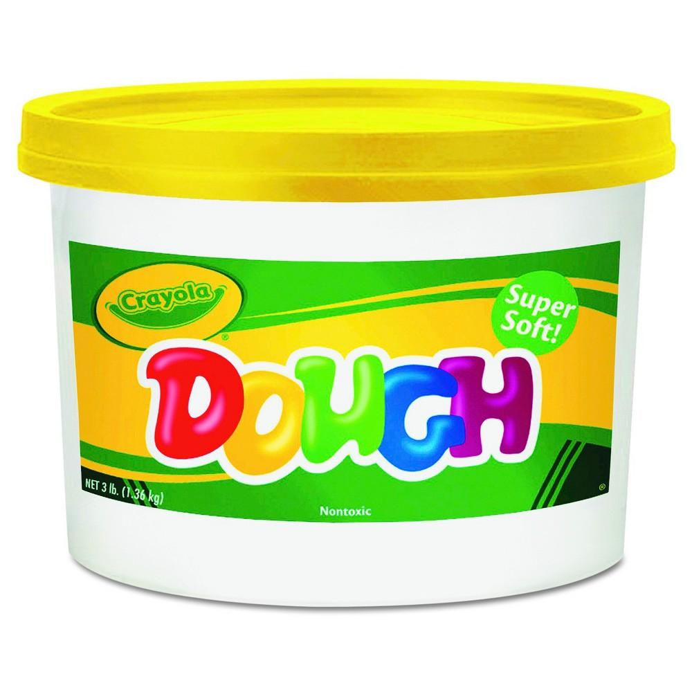 Image of Crayola Modeling Dough Bucket 3lbs Yellow