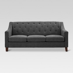Felton Tufted Sofa - Gray - Threshold™