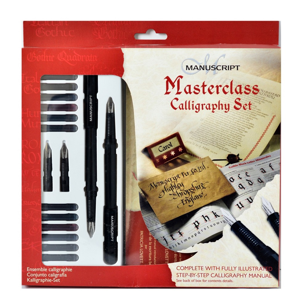 Image of Calligraphy Masterclass Set 21pc - Manuscript