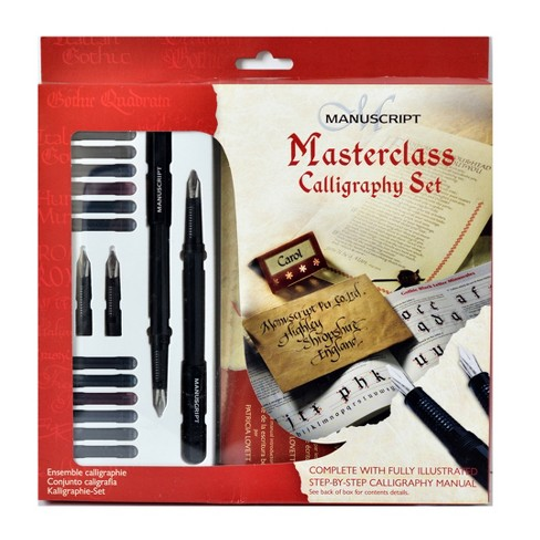 Calligraphy Masterclass Set 21pc - Manuscript - image 1 of 1