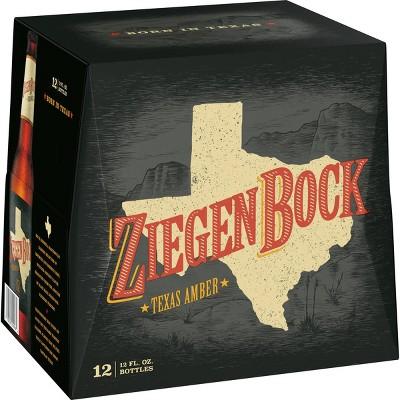 ZiegenBock Texas Amber Beer - 12pk/12 fl oz Bottles