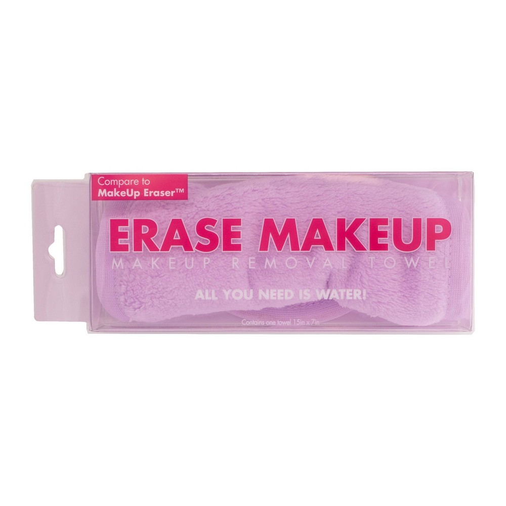 Image of Erase Makeup Facial Cleansing Cloth - Lavender