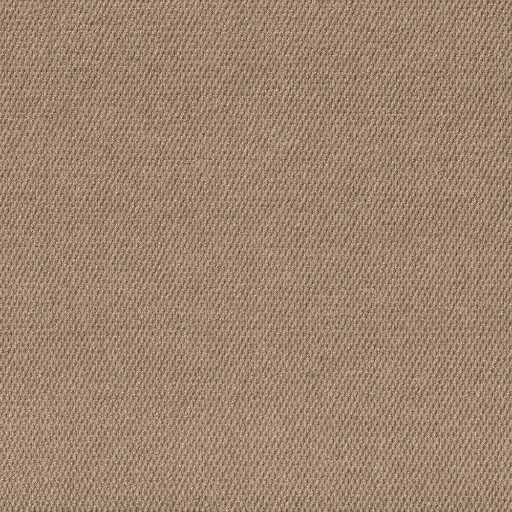 24 15pk Hobnail Carpet Tiles Taupe (Brown) - Foss Floors