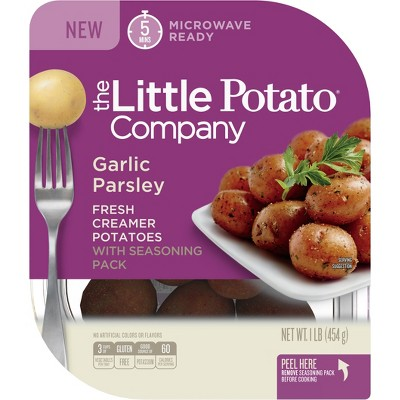 The Little Potato Garlic & Parsley Microwavable Vegan Potatoes - 1lb