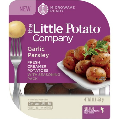 The Little Potato Garlic & Parsley Microwavable Vegan Potatoes - 1lb - image 1 of 2