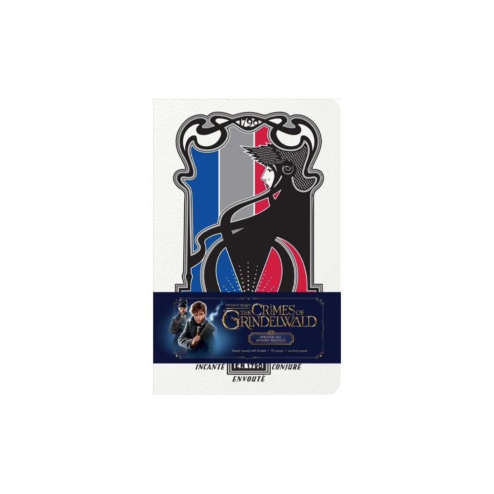 Fantastic Beasts - the Crimes of Grindelwald - Ministère Des Affaires Magiques Ruled Journal