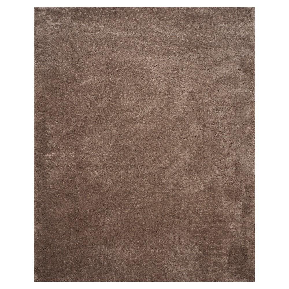 Indie Shag Rug - Mushroom (Brown) - (8'X10') - Safavieh