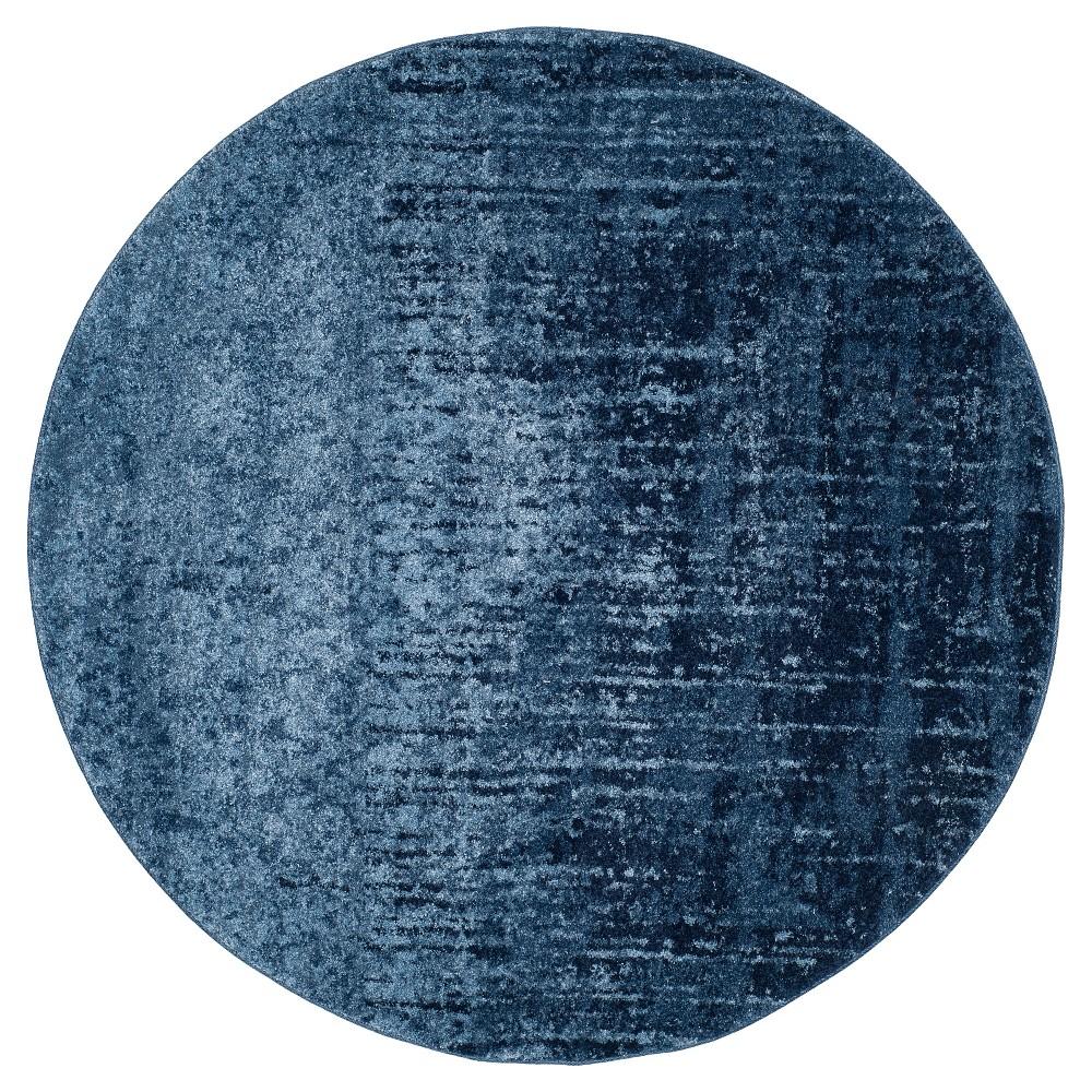 Jayden Area Rug - Light Blue / Blue ( 6' X 6' Round ) - Safavieh