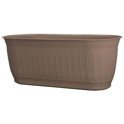 "24"" Colonnade Wood Resin Rectangular Window Box Planter - Bloem"