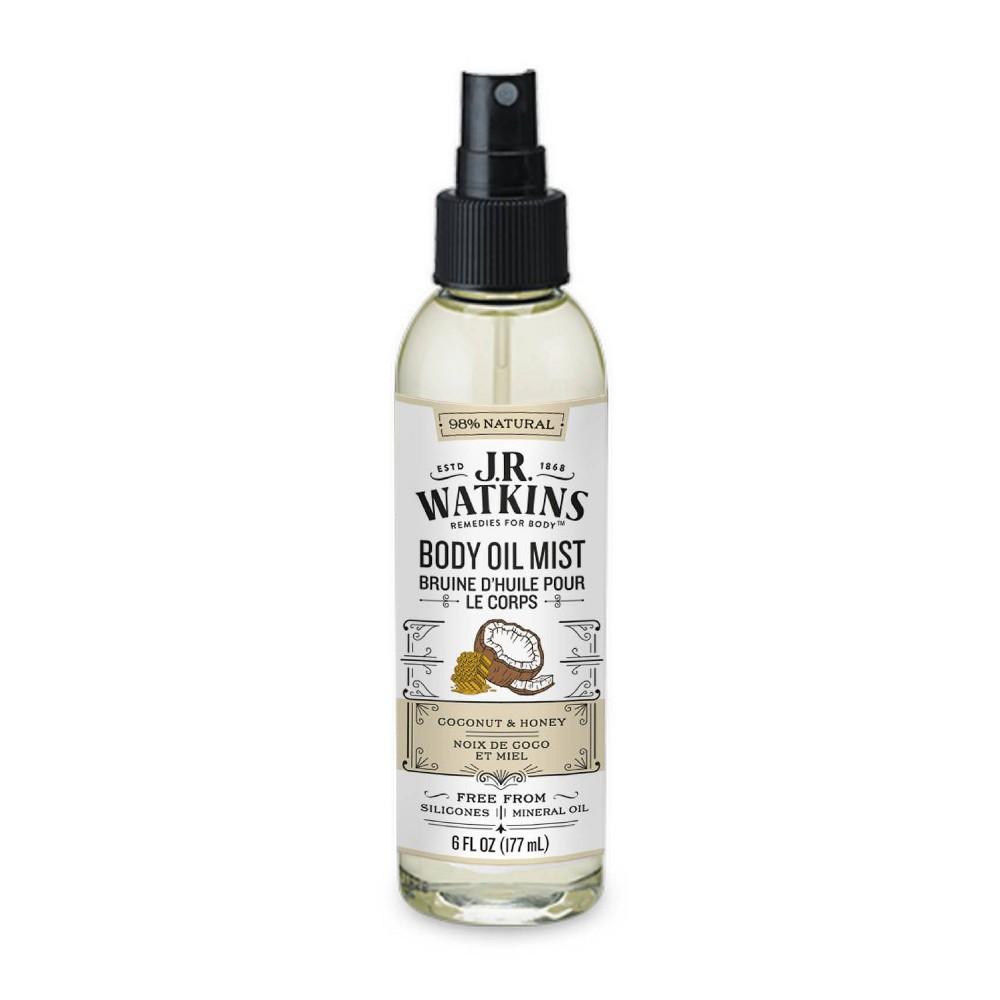 Image of J.R. Watkins Body Oil Mist - Coconut & Honey - 6 fl oz