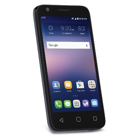 AT&T Alcatel Ideal - Blue - image 1 of 2
