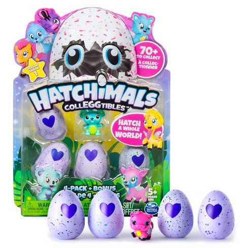 Hatchimals CollEGGtibles 4pk + Bonus by Spin Master (Styles & Colors May Vary) - image 1 of 8