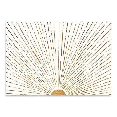Americanflat Let The Sunshine In by Modern Tropical Poster