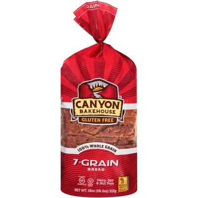 Canyon Bakehouse Gluten Free 7 Grain Bread - 18oz