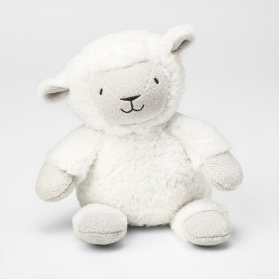 Plush Lamb - Cloud Island™ White