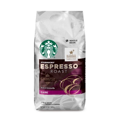 Coffee: Starbucks Whole Bean Coffee
