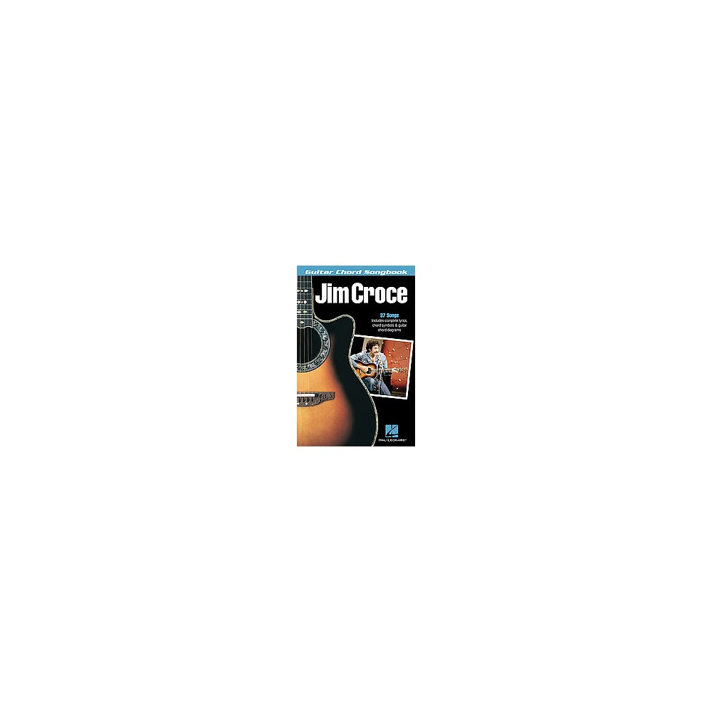 Hal Leonard Jim Croce Guitar Chord Songbook Paperback From 1019