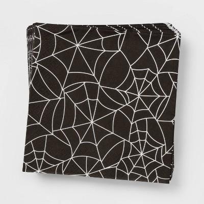 30ct Spiderweb Disposable Halloween Lunch Napkins - Hyde & EEK! Boutique™