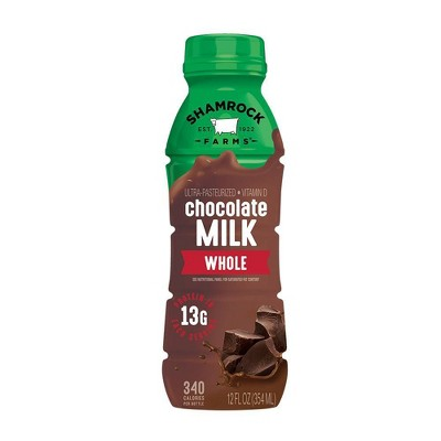 Shamrock Farms Vitamin D Chocolate Milk - 12 fl oz