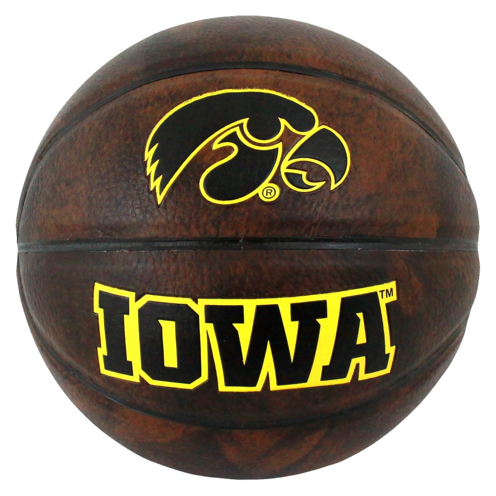Iowa Hawkeyes Vintage 3 Mini Basketball