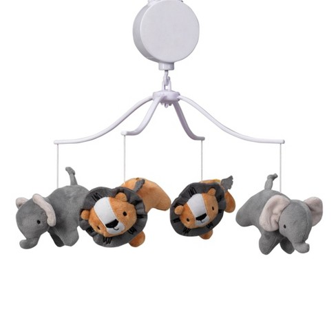 Bedtime Originals Musical Baby Crib Mobile - Jungle Fun - image 1 of 4