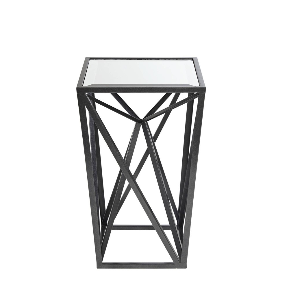 Jaye Angular Mirror Accent Table Iron was $89.99 now $62.99 (30.0% off)