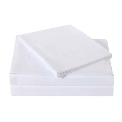 Queen Microfiber Everyday Sheet Set White - Truly Soft