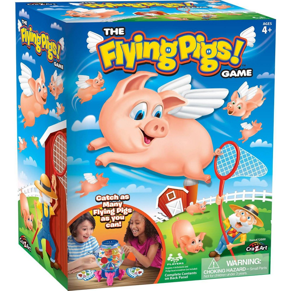 The Flying Pigs Game, Board Games was $19.99 now $9.99 (50.0% off)