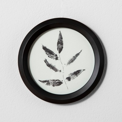 Framed Wall Art 8 x8  - Leaf - Hearth & Hand™ with Magnolia