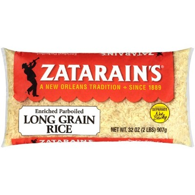 Zatarain's Enriched Extra Long Grain Parboiled Rice - 32oz