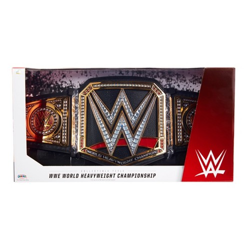 WWE World Heavyweight Championship Collectible Title Belt - image 1 of 8
