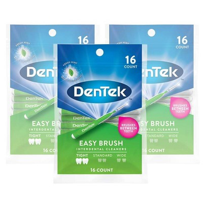 DenTek Easy Interdental Brush Cleaners - 48ct