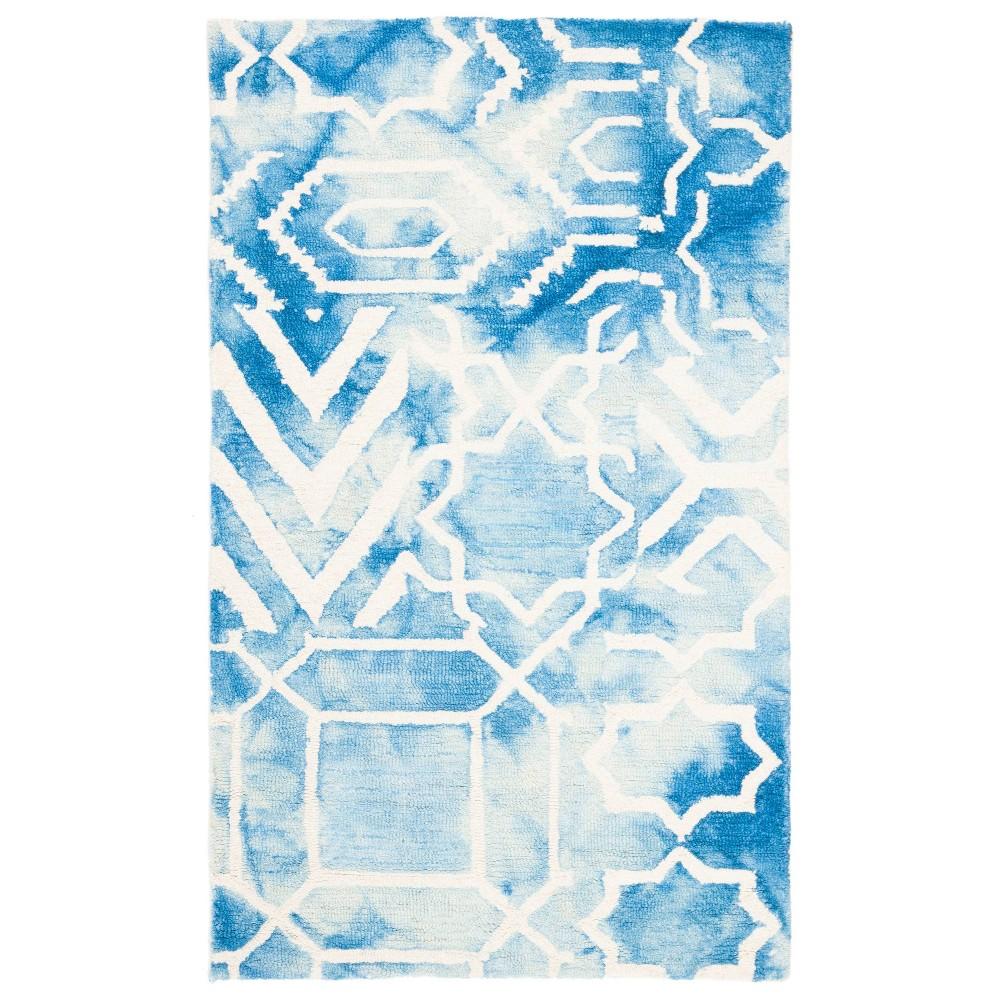 Jaycee Area Rug - Blue/Ivory (3'x5') - Safavieh