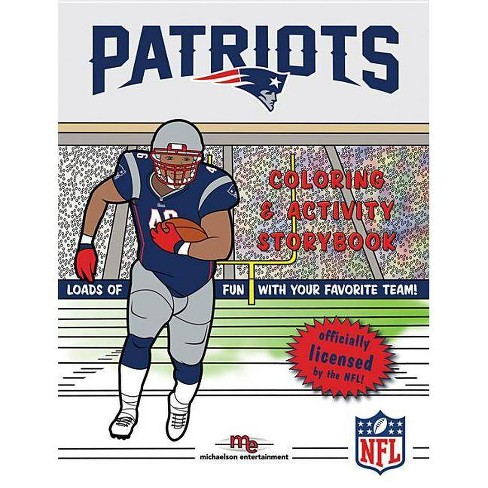 New England Patriots - Spongebob - Coloring Pages | 488x488