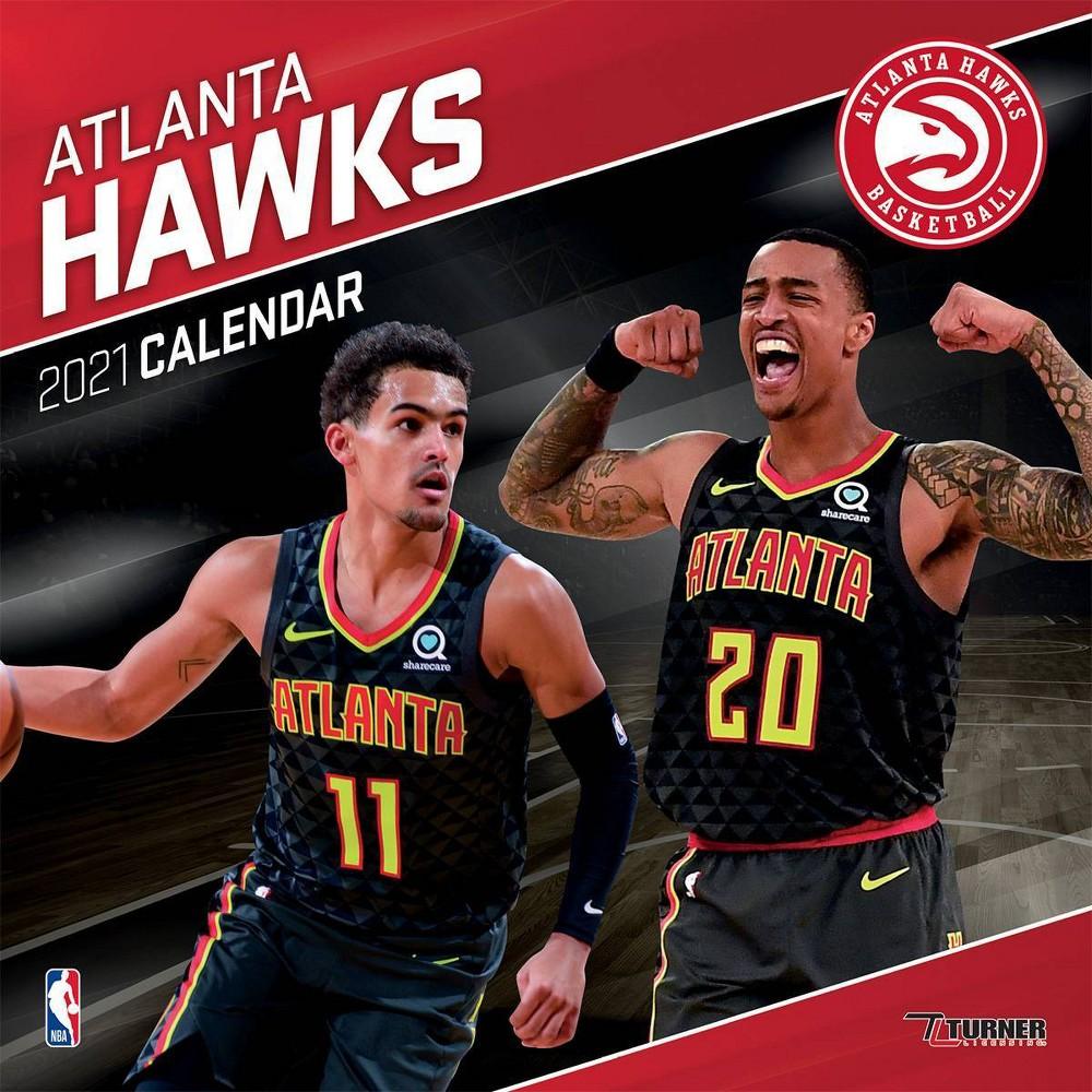 Nba Atlanta Hawks 12 34 X12 34 Wall Calendar