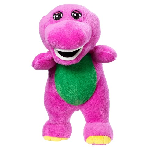 Fisher Price Barney And Friends Barney 7 5 Plush Doll Target