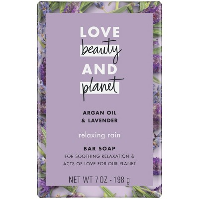 Love Beauty And Planet Argan Oil &Amp; Lavender Bar Soap   7oz by 7oz